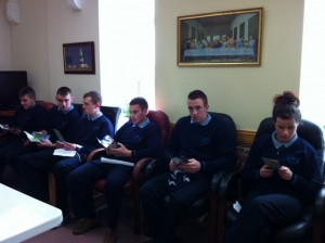 6th Yr LCVP trip to St Louis Day Care