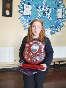 Hayleigh Foley Saunders - JCSP Student of the Year 2014