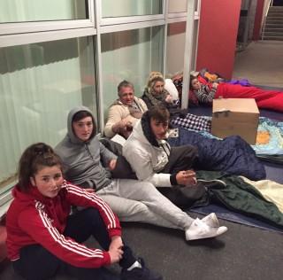 Students & Teachers Sleepout!
