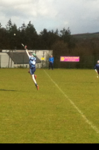 Kevin White U14 win V bunclody