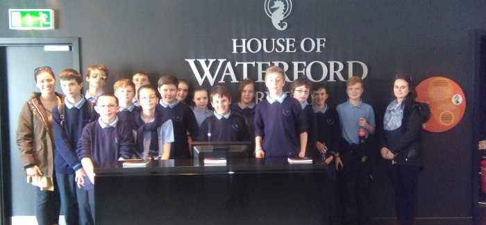 1st Yr Trip to Waterford Crystal!