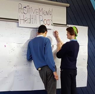 TY Mental Health – Positivity Board