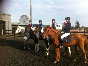 Novice Equestrian Team win Inter Schools!