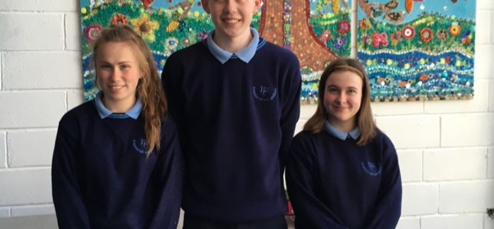 Alison, Joseph and Leanne are off to Lourdes