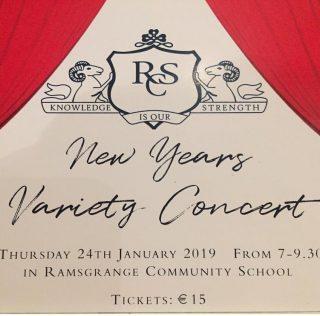 RCS Variety Concert! January 24th!