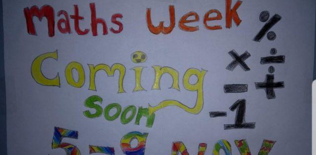 It's here!!! Maths Week!!!!